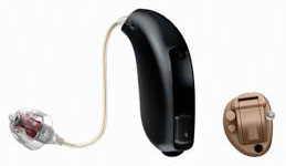 Oticon hearing aid supplied by Kirsten Mcleod Audiology